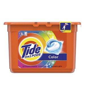 Капсулы для стирки Tide 3 в 1 Pods Color  фото