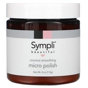 Скраб для лица Sympli beautiful cocount smoothing micro polish фото