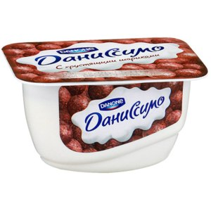 Йогурт Danone Даниссимо с хрустящими шариками фото