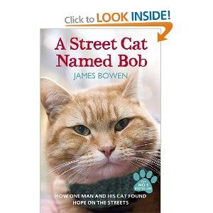 Уличный кот по имени Боб. Джеймс Боуэн фото