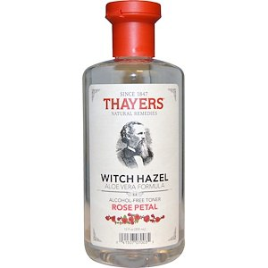 Тоник Thayers, Rose Petal Witch Hazel with Aloe Vera Alcohol-Free Toner фото