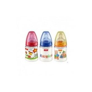 Бутылочка для кормления Nuk Baby FIRST CHOICE пластиковая с силиконовой соской фото