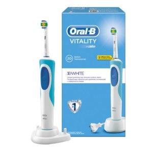 Электрическая зубная щетка Oral-B VITALITY 3D white фото