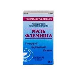 Гомеопатия ООО «Гомеопатическая фармация» Мазь Флеминга® фото