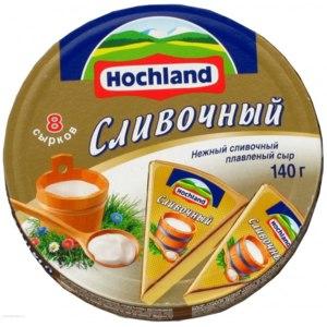 Плавленый сыр Hochland СЛИВОЧНЫЙ фото