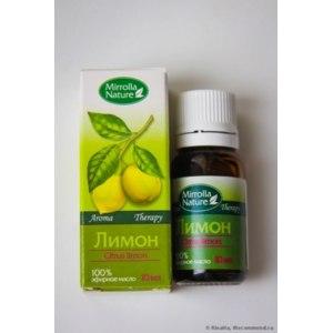 Эфирное масло Мирролла 100% эфирное масло лимона фото