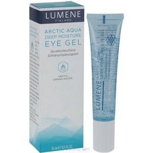 Гель для контура глаз Lumene arctic aqua deep moisture eye gel фото