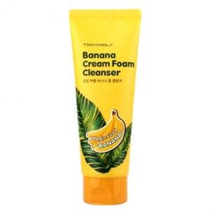 Крем-пенка для умывания TONY MOLY Magic Food Banana Cream Foam Cleanser фото