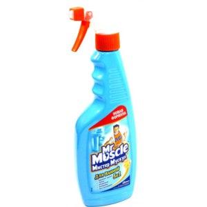 """Универсальное чистящее средство  Мистер Мускул Mr. Muscle """"Эксперт для ванной"""" 5 в 1 фото"""