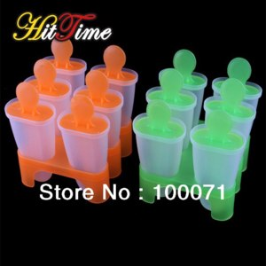 Формочки для мороженого AliExpress 6 Cell Frozen Ice Cream Pop Mold Popsicle Maker Lolly Mould Tray Pan Kitchen  фото