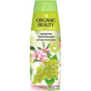 Шампунь Organic beauty  для всех типов волос  Питательный фото