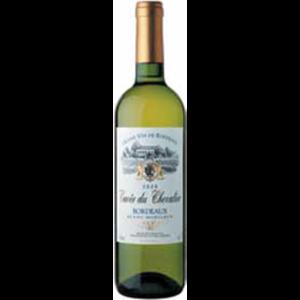 Вино  Cuvee du Chevalier Bordeaux белое сухое (Франция) фото