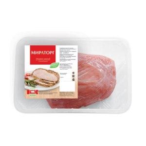 Мясо Мираторг Окорок свиной охлажденный фото