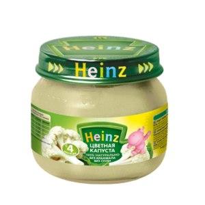 Детское питание Heinz Пюре из цветной капусты фото