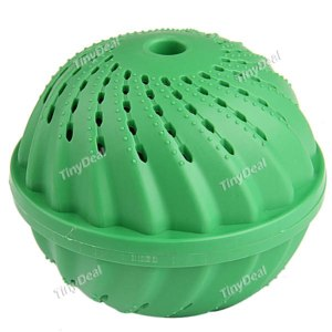 Шары для стирки и сушки белья Tinydeal Green Environment-Friendly & Detergent-Free Magic Washing Ball with Ceramic Pieces Pearls 3 ~ 5KG HHI-15612 фото