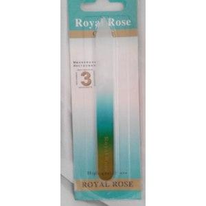 Пилка для ногтей Royal Rose Стеклянная пилочка фото