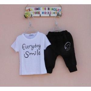 Комплект (футболка и штанишки) AliExpress Kids suit summer Cartoon clothing фото