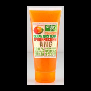 Скраб для тела ORGANIC SHOP Тропический манго фото