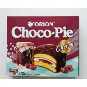 """Пирожное Orion Choco Pie """"Cherry""""  фото"""