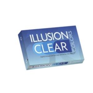 Контактные линзы ILLUSION Colors Clear фото