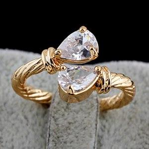 Кольцо Lightinthebox.com KU NIU Women's Gold Plating Zircon 11Mm Ring фото