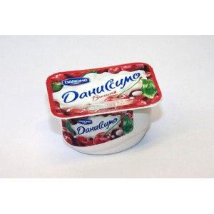 Йогурт Danone Даниссимо вишня фото