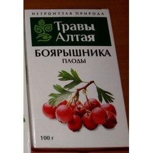 Сушеные плоды Травы Алтая Боярышник фото
