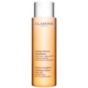 Лосьон для лица Clarins Toning lotion with aloe vera фото