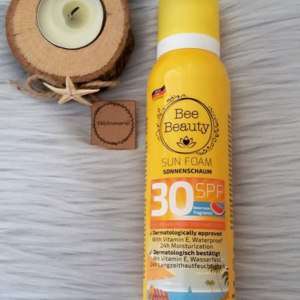 Солнцезащитный мусс Bee Beauty High Protection Sunscreen 30 SPF фото
