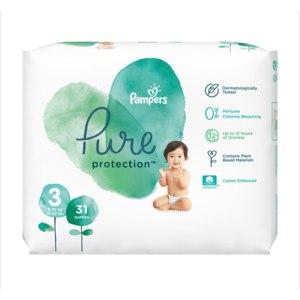 Подгузники Pampers Pure protection  фото