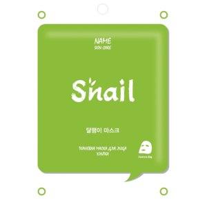 Тканевая маска для лица Name Skin Care (MIJIN cosmetics) Snail (Улитка) фото