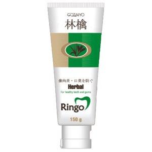Зубная паста Gotaiyo Ringo Herbal фото