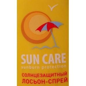 Лосьон-спрей Sun Care sunburn protection Солнцезащитный фото
