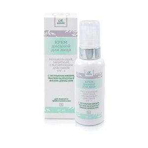 Крем для лица Клеона Дневной увлажняющий для жирной и проблемной кожи с матирующим эффектом и SPF 5 фото
