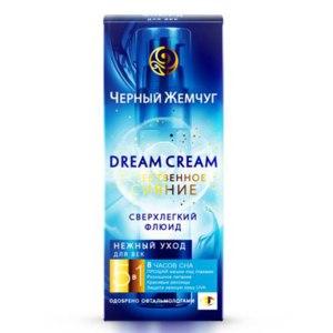 Флюид для век Черный Жемчуг Dream Cream Естественное Сияние фото