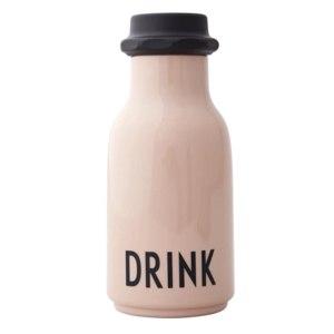 Бутылка для воды Design Letters Drink Water Bottle Pink фото