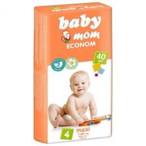 Подгузники Baby Mom Econom фото