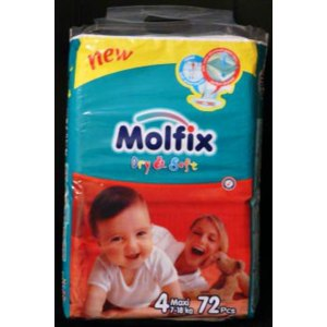 Подгузники Molfix  фото