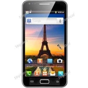 """Смартфон от tinydeal """"Android V2.3.6 AT & T T-Mobile Vodafone разблокирована бар мобильный сотовый телефон + камера + WiFi – черныйP05-I9070 фото"""