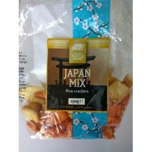 Снэки Golden turtle Рисовые крекеры Japan Mix фото