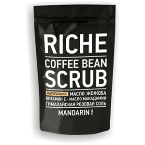 Скраб для тела RICHE Coffee Bean Scrub Mandarin фото