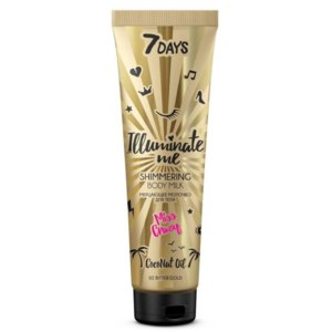 Молочко для тела Vilenta 7 Days Illuminate me shimmering body milk Miss Crazy  фото