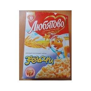 Готовые завтраки Любятово Звездочки фото
