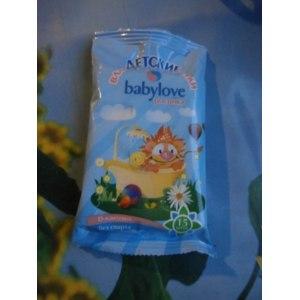 Влажные салфетки Babylove росинка фото