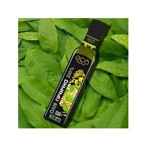 Масло горчичное Eco-olio первый холодный отжим фото