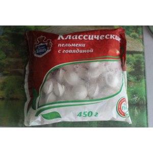 Пельмени Русский холод Классические пельмени с говядиной фото