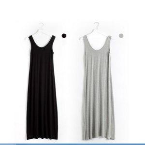 Платье летнее AliExpress Floor-length Casual Summer Camisole Dress Modal Loose Big Size  фото