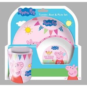 Посуда Peppa Pig Набор посуды Свинка Пеппа Dinner Set фото