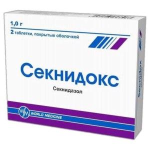 Противопротозойное средство World Medicine Секнидокс фото