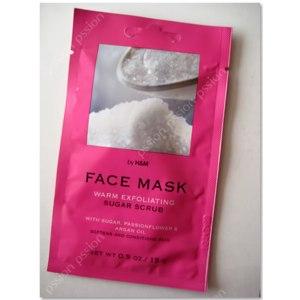 Скраб для лица H&M Fase mask Warm Exfoliating Sugar scrub фото